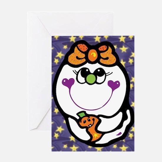 Cute Ghost Greeting Card