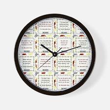 MER-DER Wall Clock