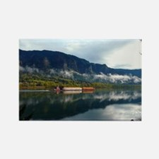 Unique Columbia river gorge Rectangle Magnet