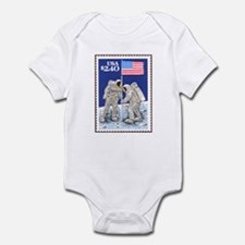 Apollo 11 Flag Infant Creeper Space gift