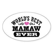 World's Best MaMaw Ever Decal