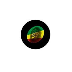Reggae Lion Mini Button (100 pack)
