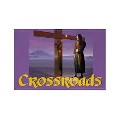 Crossroads - Rectangle Magnet