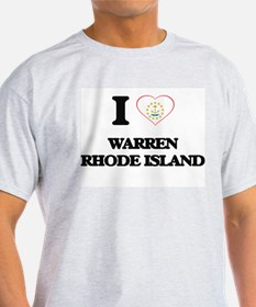 I love Warren Rhode Island T-Shirt