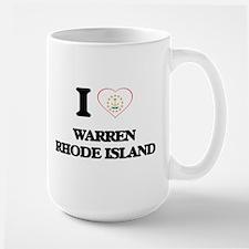 I love Warren Rhode Island Mugs