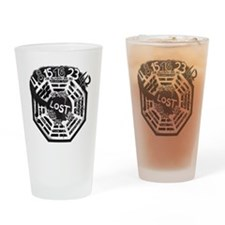 Memories From LOST Drinking Glass