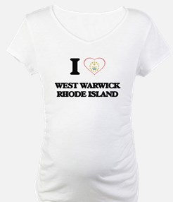 I love West Warwick Rhode Island Shirt