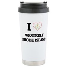 I love Westerly Rhode I Travel Mug