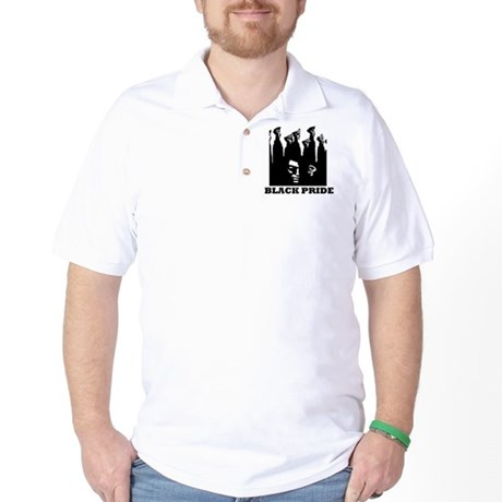 Black Pride Golf Shirt