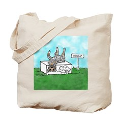 Agility Pause for the Cause! Tote Bag
