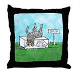 Agility Pause for the Cause! Throw Pillow