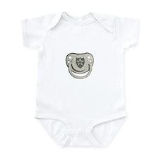 2nd ID Binky Infant Bodysuit