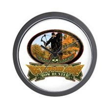 death from above bow hunting  Wall Clock