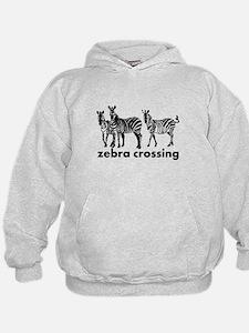 Zebra Crossing Hoodie