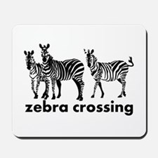 Zebra Crossing Mousepad