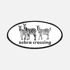 Zebra Crossing Patch