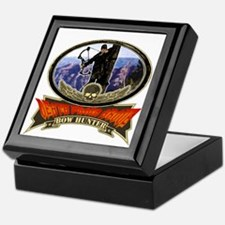 death from above bow hunting Keepsake Box