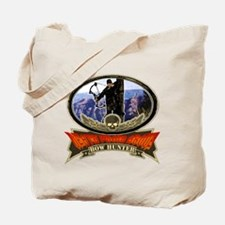 death from above bow hunting  Tote Bag