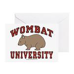 Wombat University Greeting Cards (Pk of 10)