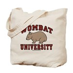 Wombat University Tote Bag
