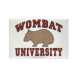 Wombat University Fridge Magnet
