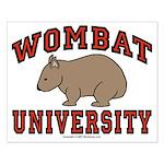 Wombat University Poster - Small
