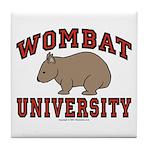Wombat University Coaster Tile