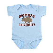 Wombat University Infant Bodysuit