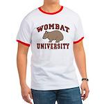 Wombat University Ringer Tee Shirt