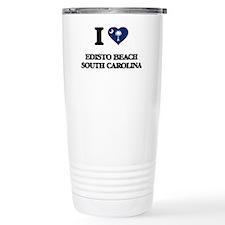 I love Edisto Beach Sou Travel Mug