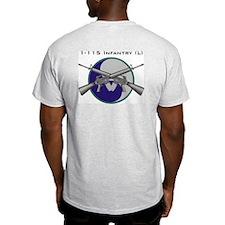 1-115th Ash Grey T-Shirt