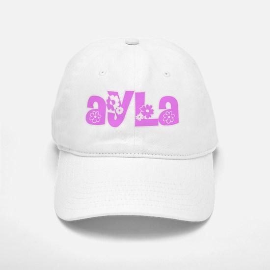 Ayla Flower Design Cap