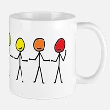 Rainbow Sticks Mug