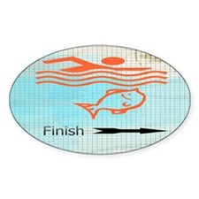 Finish with the Fish Decal