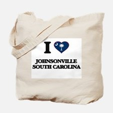 I love Johnsonville South Carolina Tote Bag