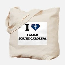 I love Lamar South Carolina Tote Bag