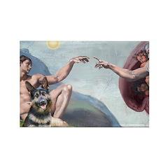 Creation / G-Shep Rectangle Magnet