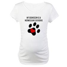 My Grandson Is A Norwegian Elkhound Shirt