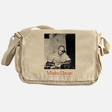 Moshe Dayan Israeli Army IDF Militar Messenger Bag