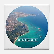 Kailua Panorama Tile Coaster