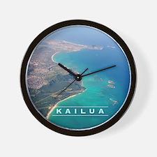 Kailua Panorama Wall Clock
