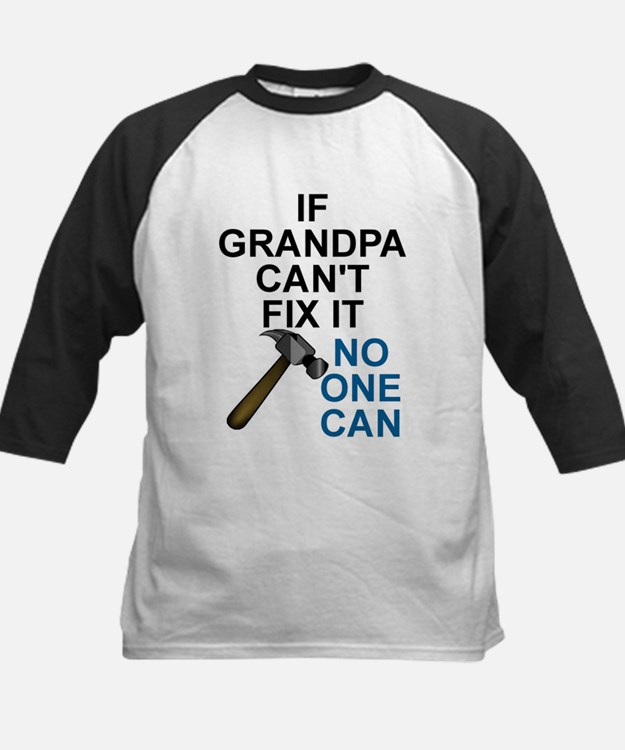 IF GRANDPA CAN'T FIT IT Baseball Jersey