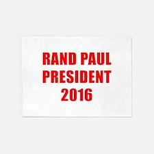Rand Paul President 2016-Imp red 7 5'x7'Area Rug