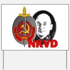 Lavrentiy Beria NKVD KGB Soviet Ussr Sta Yard Sign