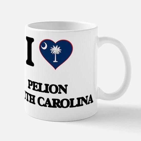 I love Pelion South Carolina Mug