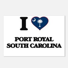 I love Port Royal South C Postcards (Package of 8)