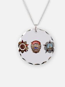Military Soviet Union Decora Necklace