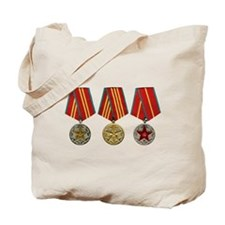 Soviet Union Medals T-shirt 2nd World War Tote Bag
