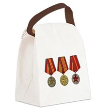Soviet Union Medals T-shirt 2nd W Canvas Lunch Bag