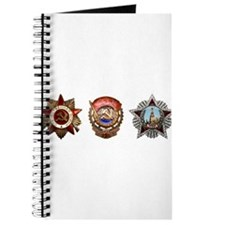 Military Soviet Union Decorations Medals T Journal